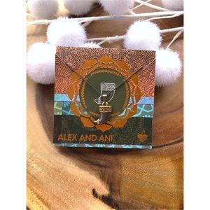 NWT Alex and Ani Tiger Claw Necklace